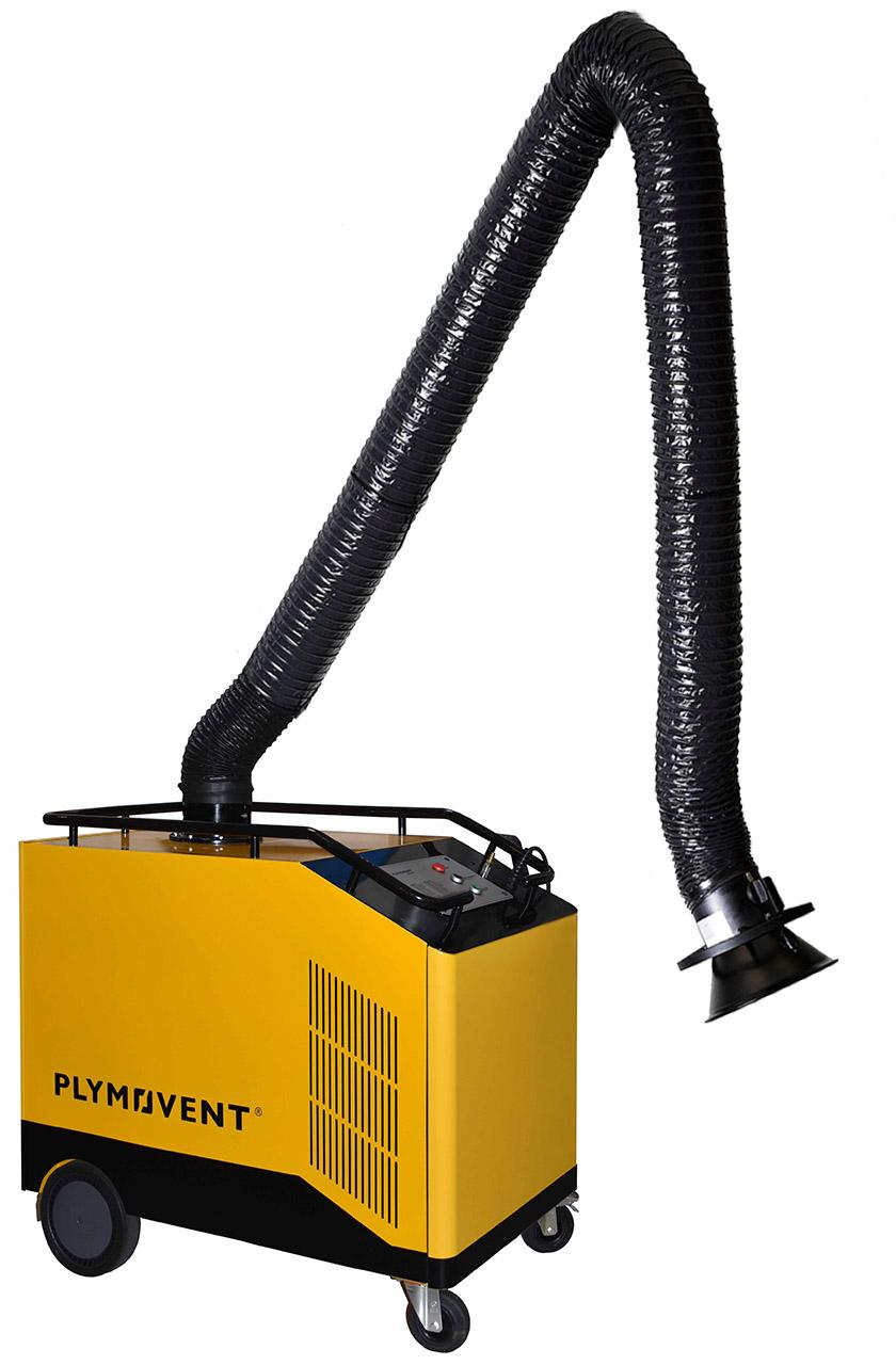 0000110MPEA  Plymovent MobilePro Welding Fume Extractor Package with Economy Arm & Self Cleaning Filter